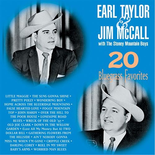 20 Bluegrass Favorites by Earl Taylor & Jim McCall