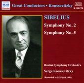 Sibelius: Symphonies Nos. 2 and 5 (Koussevitzky) (1935-1936) by Sergey Koussevitzky