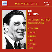 Schipa, Tito: The Complete Victor Recordings, Vol. 2 (1924-1925) by Various Artists