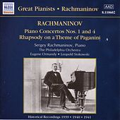 Rachmaninov: Piano Concertos Nos. 1 and 4 (Rachmaninov) (1939-1941) by Various Artists