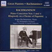Rachmaninov: Piano Concertos Nos. 1 and 4 (Rachmaninov) (1939-1941) by Various Artists