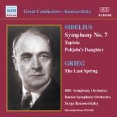 Sibelius: Symphony No. 7 / Tapiola (Koussevitzky) (1933-1940) by Sergey Koussevitzky