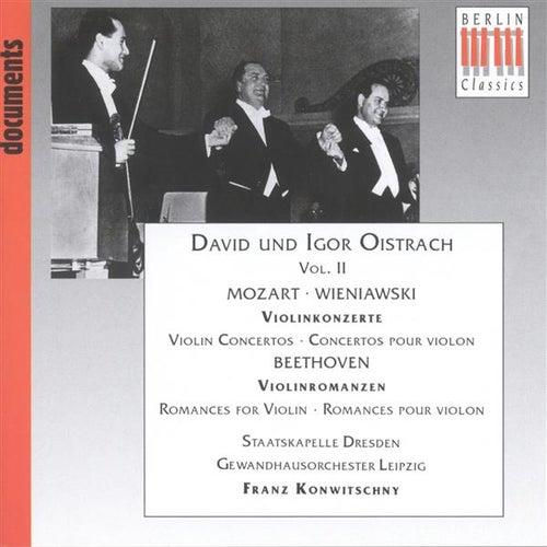 Mozart, W.A.: Violin Concerto No. 5 / Beethoven, L. Van: Romances / Wieniawski, H.: Violin Concerto No. 2 (1954-1956) by Various Artists