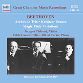 Beethoven: Archduke Trio (Thibaud / Casals / Cortot) (1926-1927) by Various Artists