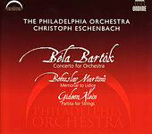 Bartok: Concerto for Orchestra - Martinu: Memorial to Lidice - Klein: Partita for Strings by Christoph Eschenbach