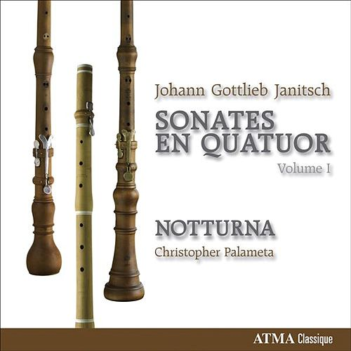 Janitsch, J.G.: Sonata Da Camera, Vol. 1 by Christopher Palameta