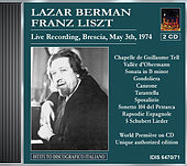 Berman, Lazar: Piano Works by Franz Liszt by Lazar Berman