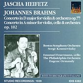 Brahms, J.: Violin Concerto, Op. 77 / Double Concerto for Violin and Cello, Op. 102 (Heifetz) (1939) by Various Artists