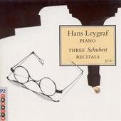 Leygraf, Hans: 3 Schubert Recitals by Hans Leygraf