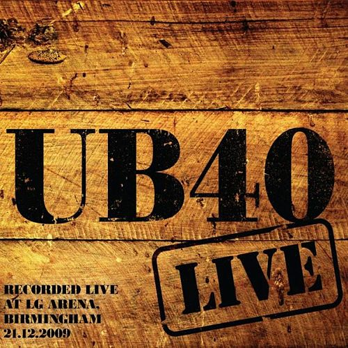 Live in Birmingham by UB40