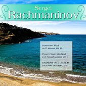 Sergei Rachmaninov: Symphony No.1 in D Minor, Op. 13; Piano Concerto No.1 in F-Sharp Minor, Op. 1; Rhapsody on a Theme by Paganini op. 43 (no. 18) by Various Artists