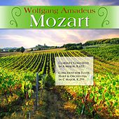 Wolfgang Amadeus Mozart: Clarinet Concerto in A Major, K.622; Concerto for Flute, Harp & Orchestra in C Major, K.299 by Various Artists