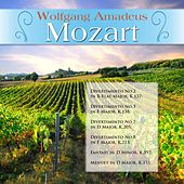 Wolfgang Amadeus Mozart: Divertimento No.2 in B-Flat Major, K.137; Divertimento No.3 in F Major, K.138; Divertimento No.7 in D Major, K.205; Divertimento No.8 in F Major, K.213; Fantasy in D Minor, K.397; Menuet in D Major, K.355 by Various Artists