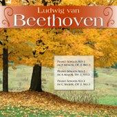 Ludwig van Beethoven: Piano Sonata No.1 in F Minor, Op. 2, No.1; Piano Sonata No.2 in A Major, Op. 2, No.2; Piano Sonata No.3 in C Major, Op. 2, No.3 by Alfred Brendel