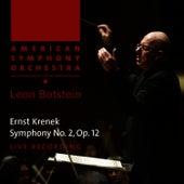 Krenek: Symphony No. 2, Op. 12 by American Symphony Orchestra