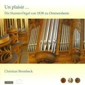 Organ Recital: Brembeck, Christian - Aichinger, G. / Tayler, M.J. / Handel, G.F. / Bach, J.S. / Silbermann, J.H. / Seixas, C. De / Corrette, M. by Christian Brembeck