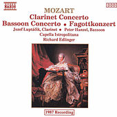 Mozart: Clarinet and Bassoon Concertos by Richard Edlinger