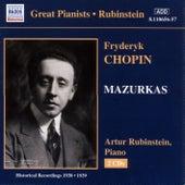 Chopin: Mazurkas (Rubinstein) (1938-1939) by Arthur Rubinstein