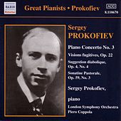 Prokofiev: Piano Concerto No. 3 / Vision Fugitives (Prokofiev) (1932, 1935) by Various Artists