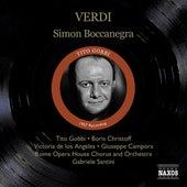 Verdi, G.: Simon Boccanegra (Gobbi, Christoff, Los Angeles, Santini) (1957) by Various Artists