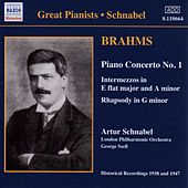 Brahms: Piano Concerto No. 1 (Schnabel) (1938) by Various Artists