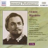 Verdi: Rigoletto (Bjorling, Sayao, Warren) (1943) by Various Artists