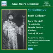 Mussorgsky: Boris Godunov (Christoff, Gedda) (1952) by Various Artists