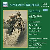 Wagner, R.: Walkure (Die), Acts I and Ii (Ring Cycle 2) (Bruno Walter) (1938) by Various Artists