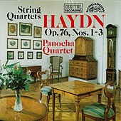 Haydn: String Quartets No. 1,2 & 3 by Panocha Quartet