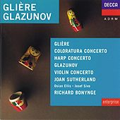 Glière/Glazunov etc: Harp Concerto/Concerto for Coloratura Soprano etc by Various Artists