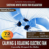 Calming and Relaxing Electric Fan (Especially Designed For Babies) by Soothing White Noise for Relaxation