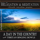 A Day in the Country (Morning Songbirds, Crickets) with Tibetan Singing Bowls: Music for Relaxation and Meditation (Nature Sounds) by Music For Relaxation