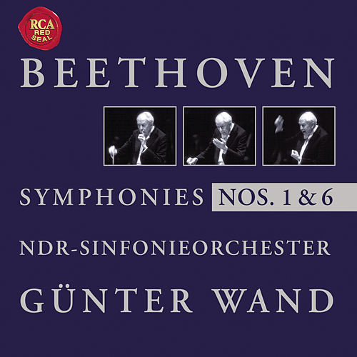 Beethoven: Symphonise Nos. 1 + 6 by Günter Wand