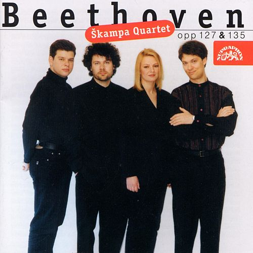 Beethoven: String Quartets, Op. 127 & 135 by Skampa Quartet