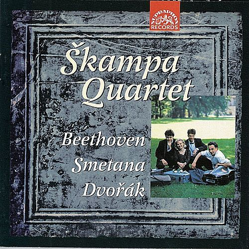 Beethoven, Smetana, Dvorak: String Quartets by Skampa Quartet