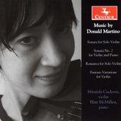 Martino: Violin Sonata - Violin Sonata No. 2 - Romanza - Fantasy Variations by Various Artists
