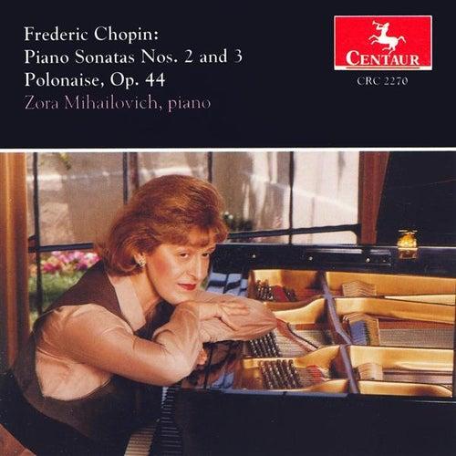 Chopin, F.: Piano Sonatas Nos. 2 and 3 / Polonaise No. 5 by Zora Mihailovich