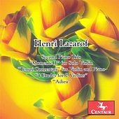 Lazarof, H.: Piano Trio No. 2. / Momenti Ii / Tempi Concertati / 4 Etudes / Adieu by Various Artists