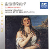 Telemann: Trauerkantate / J.S. Bach: Actus Tragicus by Various Artists