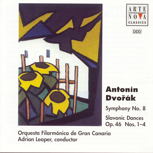Dvorak: Symphony No.8 / Slavonic Dances by Adrian Leaper