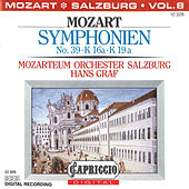Mozart: Symphonien No. 39, K. 16a, K. 19a by Hans Graf
