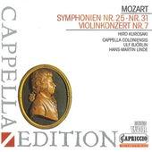 Mozart: Symphonies Nos. 25 & 31 - Violin Concerto, K. 271i by Various Artists
