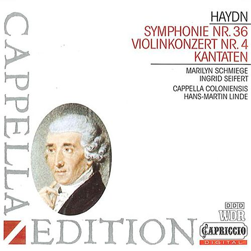 Haydn: Symphony No. 36 - Violin Concerto No. 4 - Miseri noi by Various Artists