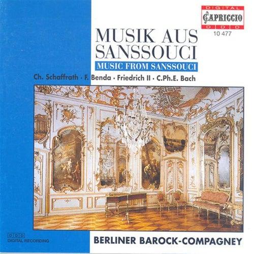 Chamber Music (Baroque) - Frederick Iii / Schaffrath, C. / Bach, C.P.E. / Benda, F. / Janitsch, J.G. (Music From Sanssouci) by Various Artists