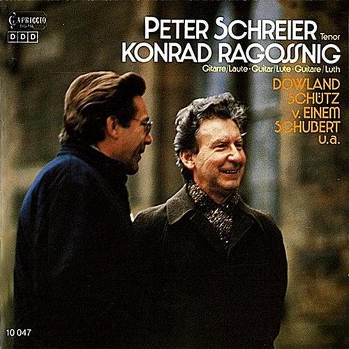 Schreier, Peter: Bach, Dowland, Schutz, Einem & Schubert by Various Artists