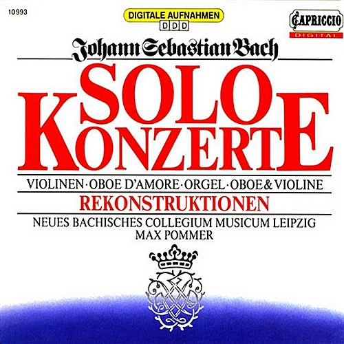 Bach: Solo Concertos by Various Artists