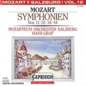 Mozart: Symphonien Nos. 11, 32, 34, 44 by Hans Graf