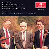 Schubert, F.: Piano Trio No. 1 / Schumann, R.: Piano Trio No. 1 by The Yuval Trio