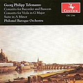 Telemann, G.P.: Double Concerto for Recorder and Bassoon, Twv 52:F1 / Viola Concerto, Twv 51:G9 by Various Artists