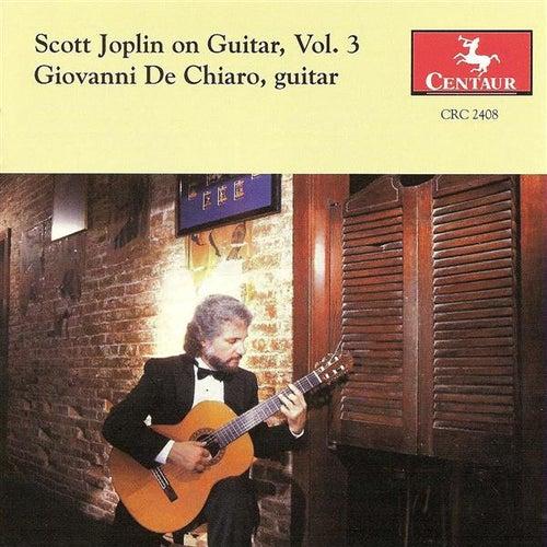 Joplin, S.: Scott Joplin On Guitar, Vol. 3 by Giovanni De Chiaro